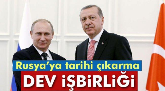 Türkiye ile Rusya arasında 100 milyar dolarlık dev işbirliği