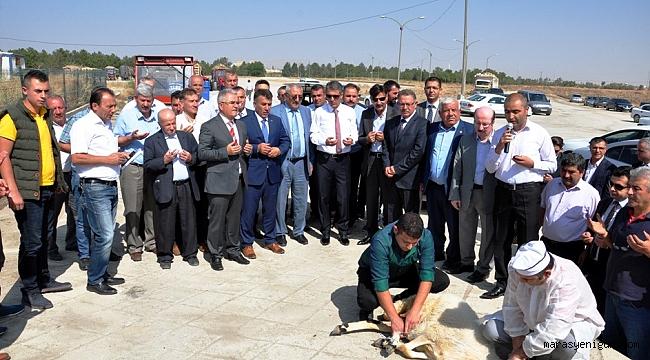 ELBİSTAN ŞEKER FABRİKASI'NDA PANCAR ALIMINA BAŞLANDI