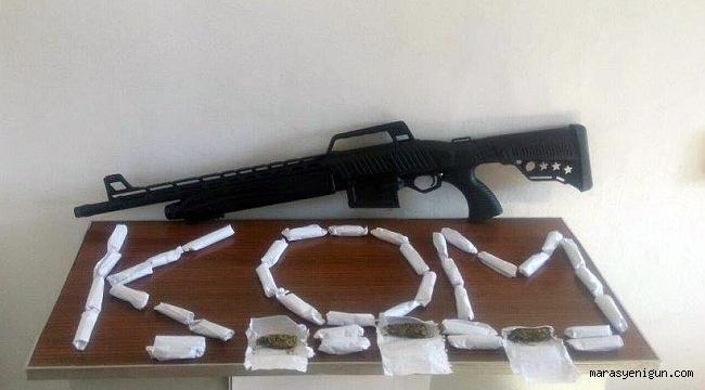 Kahramanmaraş'ta Uyuşturucu Ve Kaçak İçki Operasyonu
