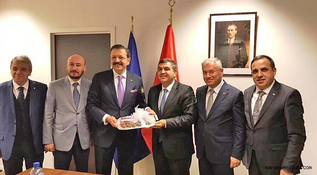 Zabun, Tobb Başkanı Hisarcıklıoğlu İle Eurochambres Genel Kurulu'na Katıldı