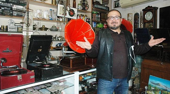 110 Yıllık Gramofon İle Geçmişe Yolculuk