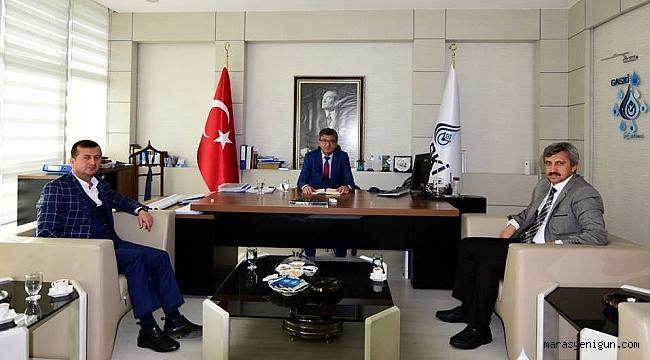 Başkan Bozdağ'dan Gaski Genel Müdürü Sönmezler'e Ziyaret