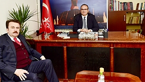 Başkan Erkoç'tan MHP'ye Ziyaret