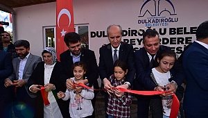 Dulkadiroğlu'nun Sosyal Tesis Atağı Sürüyor