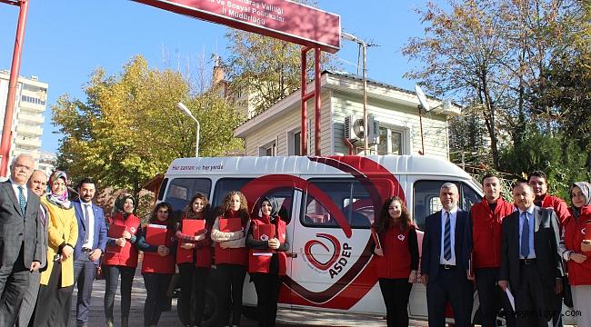 Kahramanmaraş' ta ASDEP Personeli Sahaya Çıktı