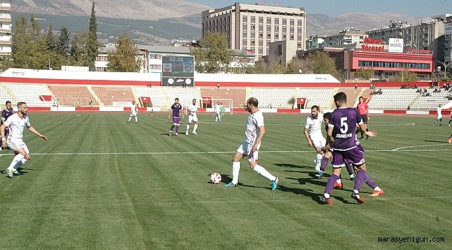 TFF 2. Lig: Kahramanmaraşspor: 0 - Hacettepe: 4