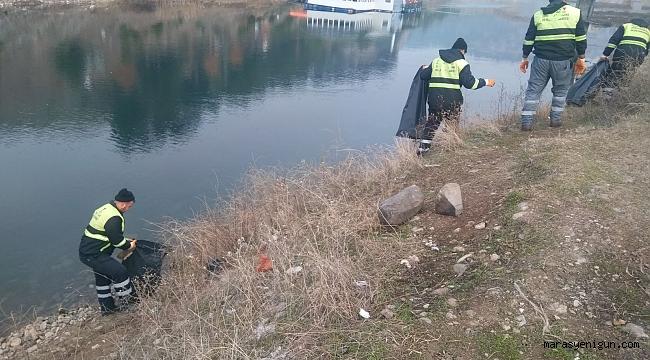 Büyükşehir'den Çevre Temizliği
