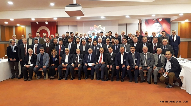 Kahramanmaraş Dernekleri İzmir de İstişare etti!