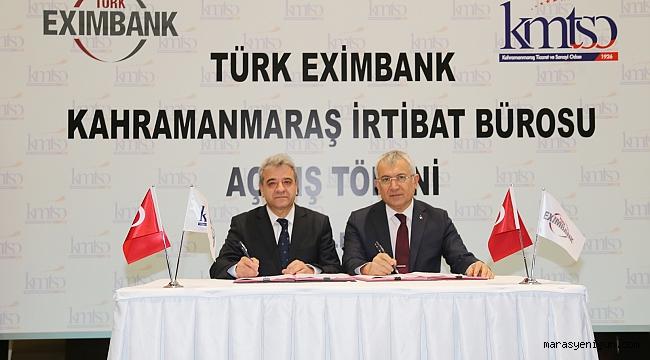 Kmtso'da Türk Exımbank İrtibat Bürosu Törenle Açıldı