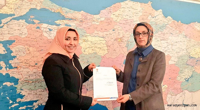 Ak Parti Ekinözü Kadın Kolları Başkanlığına Elif Kalmış Atandı.