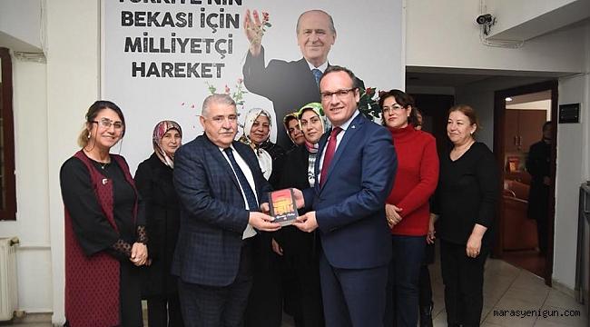 Başkan Mahçiçek, CHP ve MHP İl Başkanlarını Ziyaret Etti