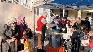 Büyükşehir'den Öğrencilere Çorba İkramı