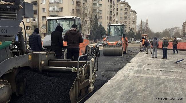 Çukurova tünel kavşak'a ilk asfalt