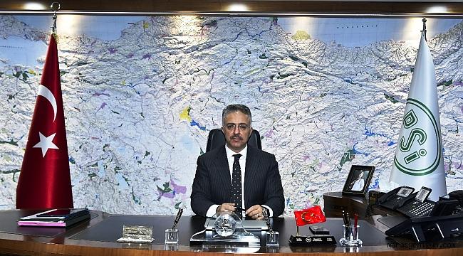 Dsi Genel Müdürü Murat ACU; son 15 yılda 4,5 milyon dekar alanı taşkınlardan koruduk