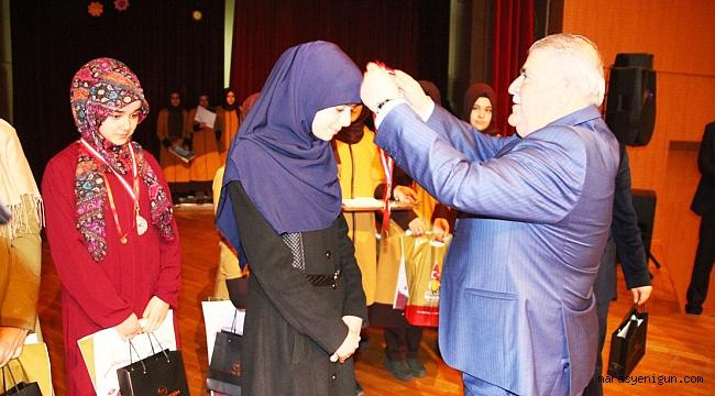 Kahramanmaraş'ta Kur'anı Kerim'i Güzel Okuma Yarışması düzenlendi