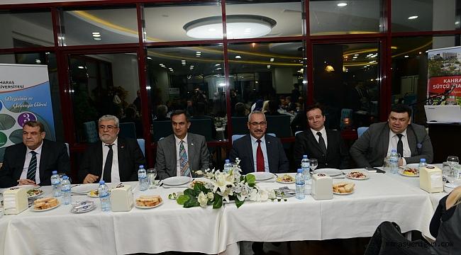 KSÜ Rektörü Deveci, Gazetecilerle Bir Araya Geldi