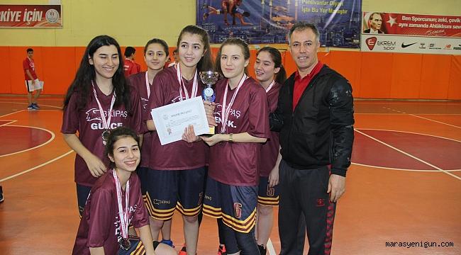 Okul sporları basketbol b grubu il birinciliği turnuvası tamamlandı