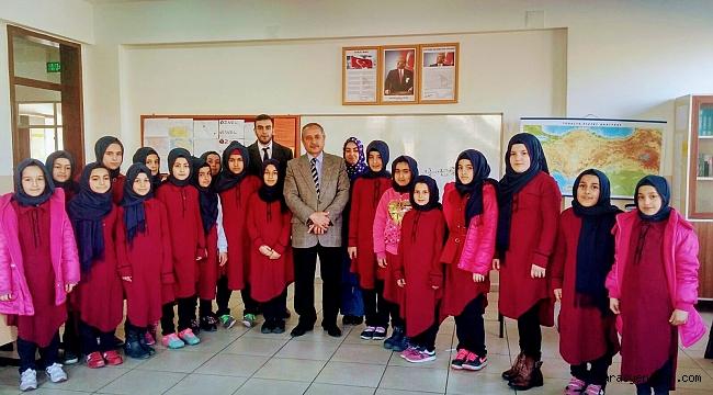 Onıkısubat Ilce Muftusu Ilıca Imam Hatıp Ortaokulunu Zıyaret Etti