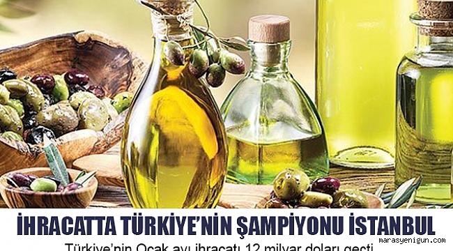 İhracatta türkiye'nin şampiyonu istanbul
