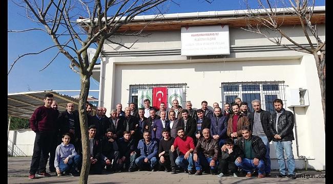 İSTANBUL'DA ELBİSTANLILAR GÜVEN TAZELEDİ!