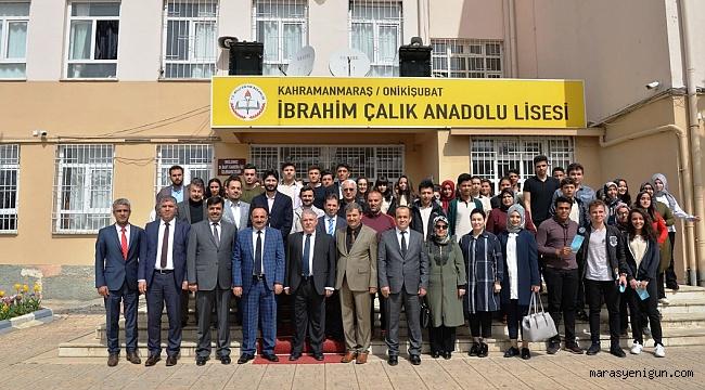 HANEFİ MAHÇİÇEK '' FİZİKİ HİZMETTEN ÖNCE EĞİTİM GELİR''