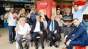 MHP'Lİ CEYHAN, TÜRKOĞLU'NDA SOKAĞA İNDİ