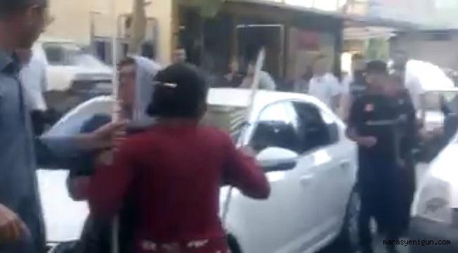 POLİS VİDEO ÇEKEREK KAVGAYI AYIRDI
