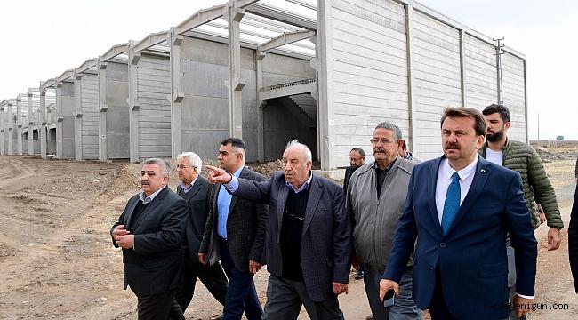 """BAŞKAN ERKOÇ: """"KAHRAMANMARAŞ'I BÜYÜTMEYE DEVAM EDİYORUZ"""""""