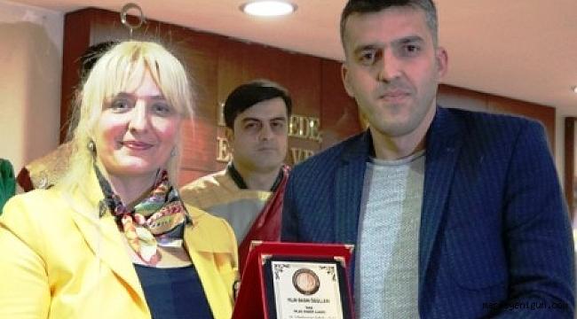 İHLAS HABER AJANSI'NA 'YILIN BASIN ÖDÜLÜ' VERİLDİ