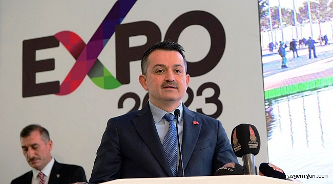 BAKAN PAKDEMİRLİ: EXPO 2023 KAHRAMANMARAŞ'A SAYGINLIK KAZANDIRACAK