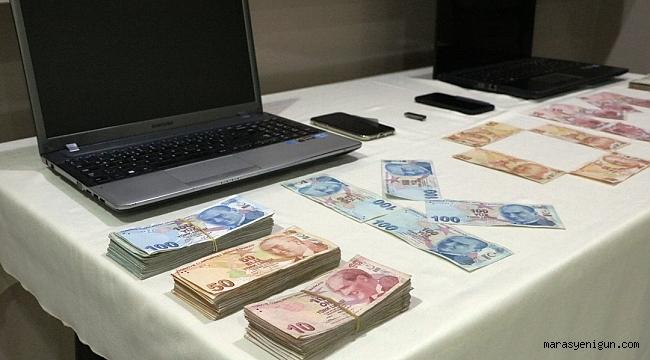 KAHRAMANMARAŞ'TA MAİL ORDER SANAL POST TEFECİLERİNE OPERASYON