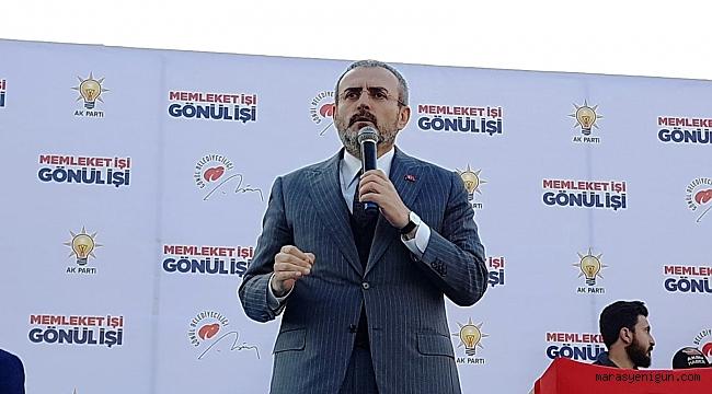 AK PARTİ GENEL BAŞKAN YARDIMCISI ÜNAL KILIÇDAROĞLU'NA OSMANİYE'DEN YÜKLENDİ