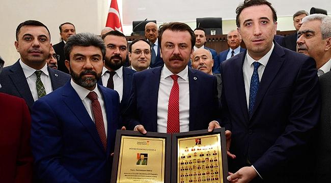 BÜYÜKŞEHİR'İN KURUCU MECLİSİ SON DEFA TOPLANDI
