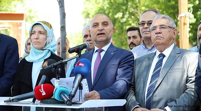 """AK PARTİ KAHRAMANMARAŞ İL TEŞKİLATI, """"BİR DAHA DARBELER YAŞANMASIN!"""""""