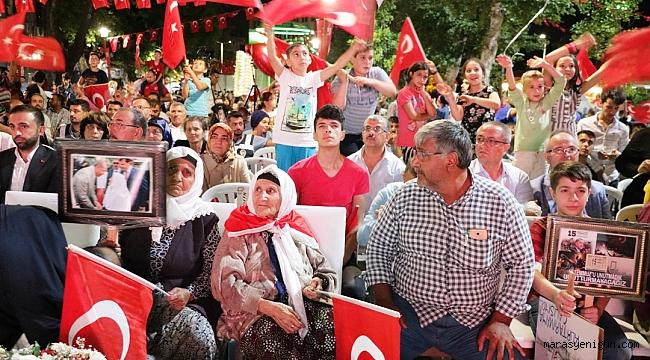 106 YAŞINDA DEMOKRASİ NÖBETİNE KATILDI