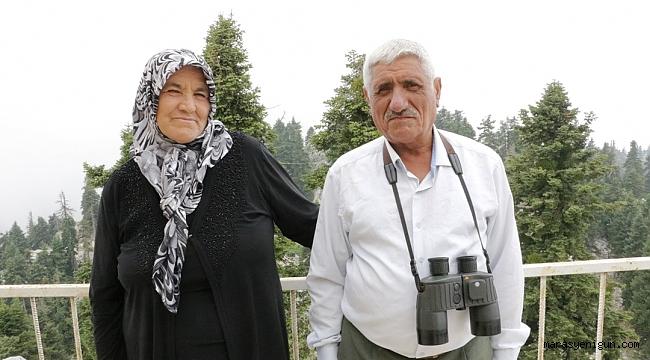 KARTAL GÖZLER ORMANLARA SAHİP ÇIKIYOR