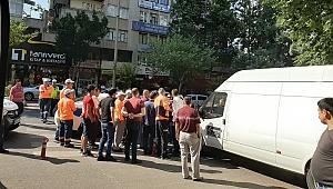 PARKOMAT GÖREVLİSİYLE SİVİL POLİS MEMURU ARASINDA KAVGA