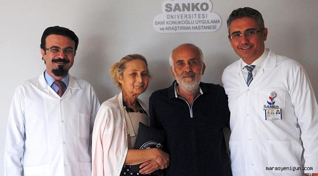 KALP RAHATSIZLIĞI YAŞAYAN ÇİFT ŞİFAYI SANKO'DA BULDU