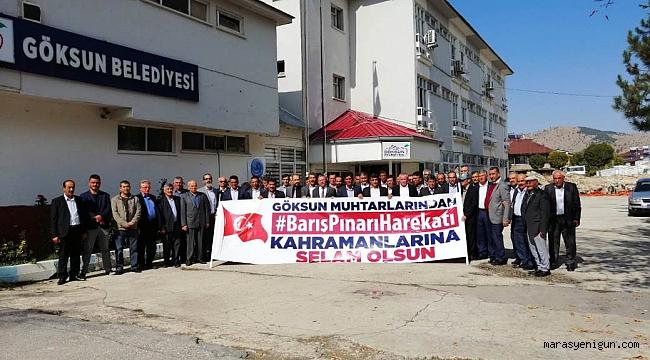 MAHALLE MUHTARLARINDAN BAŞKAN AYDIN'A ZİYARET