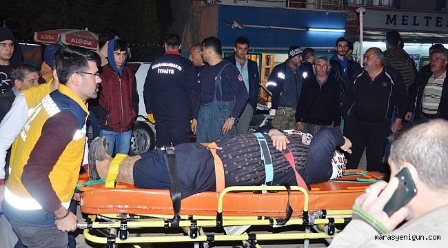 3 Kişinin Yaralandığı Kaza Kamerada