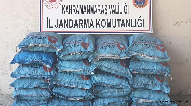 Kahramanmaraş'ta Kömür Hırsızı Tutuklandı