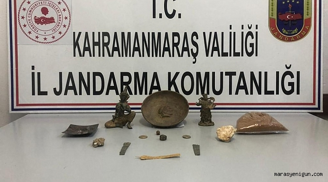 KAHRAMANMARAŞ'TA TARİHİ ESER OPERASYONU!
