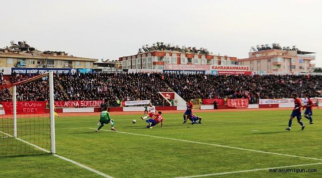 Kahramanmaraşspor: 1 - Kardemir Karabükspor: 0