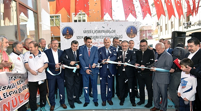 Kayseri'de Kahramanmaraşlılar Derneği Açıldı