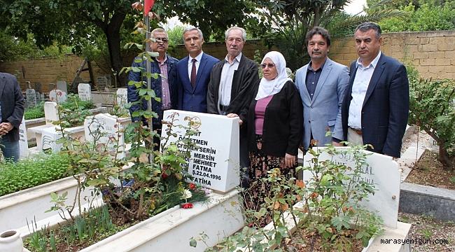 Şehit Öğretmen Hacı Ömer Serin Kabri Başında Anıldı