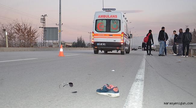 Bariyerlere Çarpan Motosiklet Sürücüsü Yaşamını Yitirdi