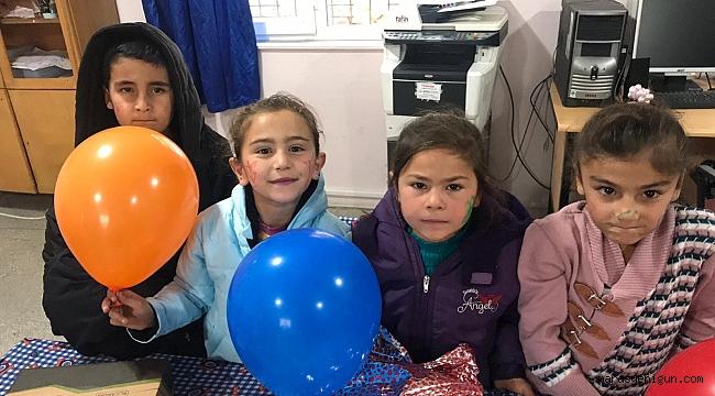 Gençlerden Köy Çocuklarına Şefkat Eli