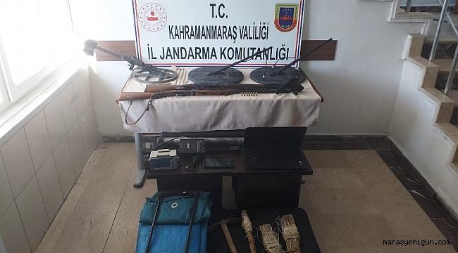 Kahramanmaraş'ta Kaçak Kazı Operasyonu: 10 Gözaltı