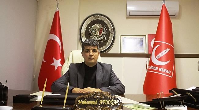 """Başkan Muhammed Aydoğar ; """" Siyaset Bir Gruba Dahil Olmak Değil , Bir Duruşa Sahip Olmaktır! """""""