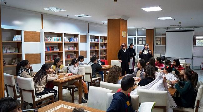 Haydi Çocuklar Kütüphaneye!